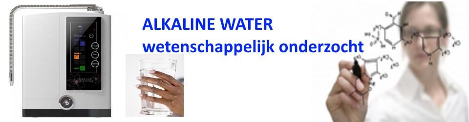 Alkaline water wetenschappelijk onderzocht
